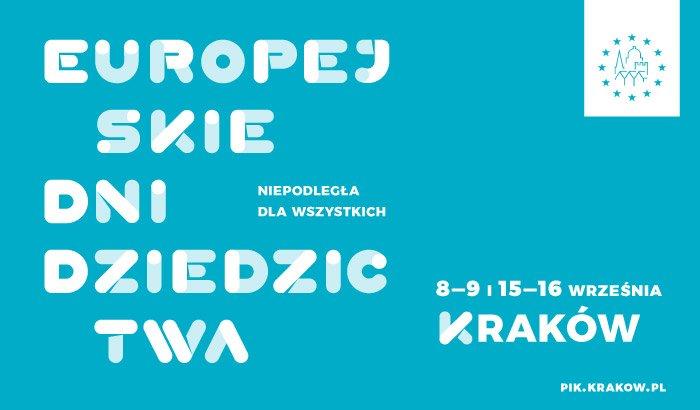 EDD - Europejskie Dni Dziedzictwa - Kraków 2018 - Program