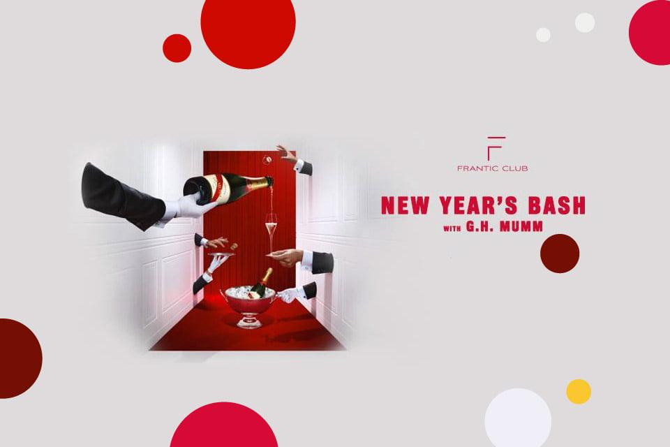 New Year's Bash w. G H Mumm x Frantic Club | Sylwester 2018/2019 w Krakowie