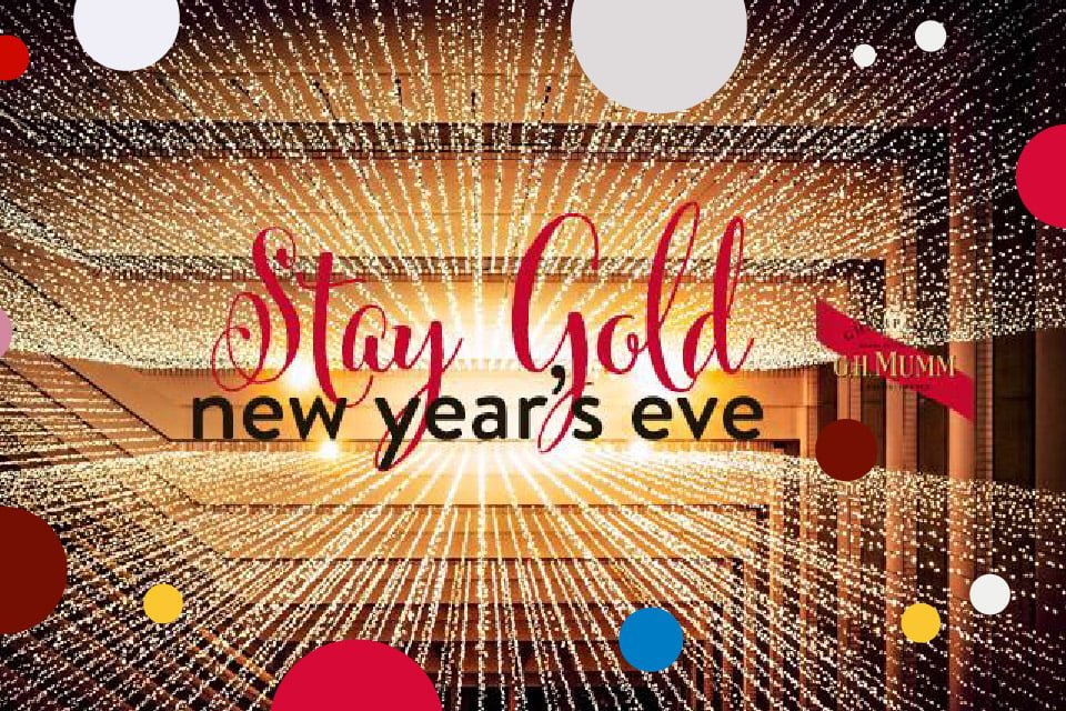 Stay Gold! New Year's Eve x Shakers | Sylwester 2018/2019 w Krakowie