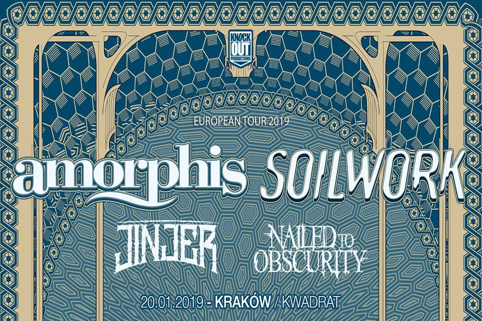 Amorphis | koncert (Kraków 2019)