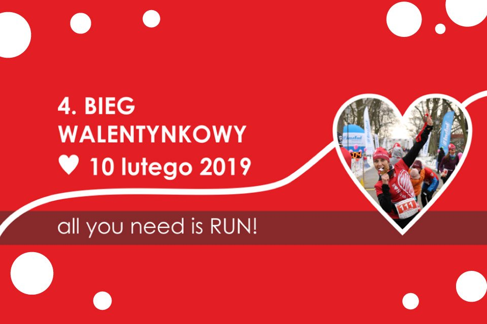 4. Bieg Walentynkowy - all you need is RUN!
