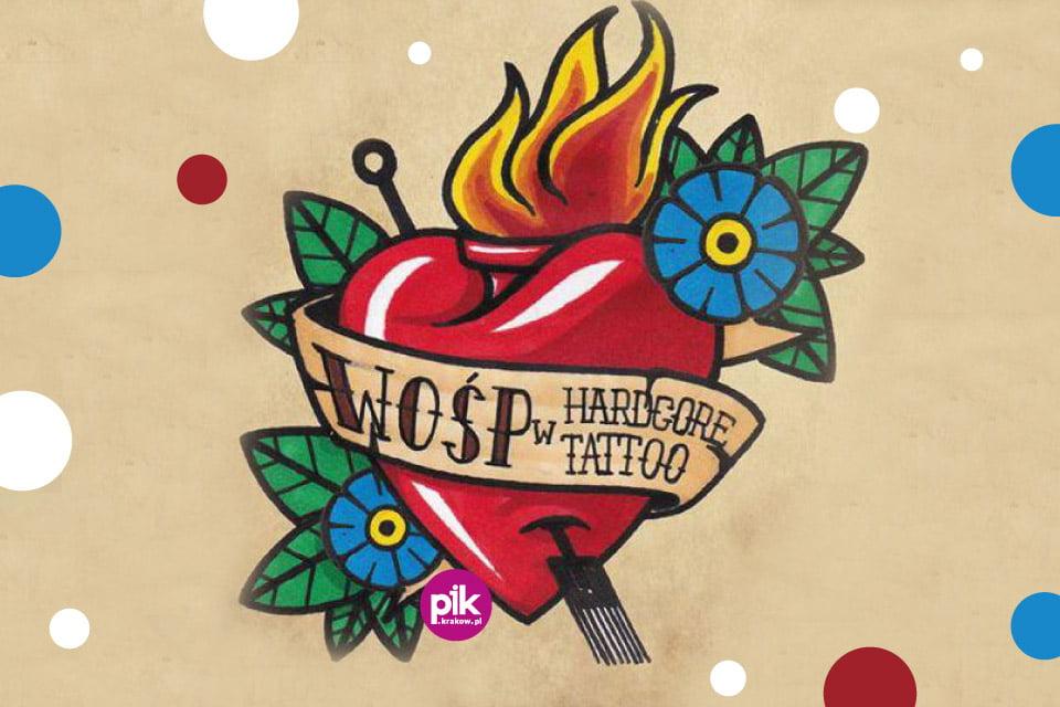 WOŚP w Hardcore Tattoo | WOŚP 2019 Kraków