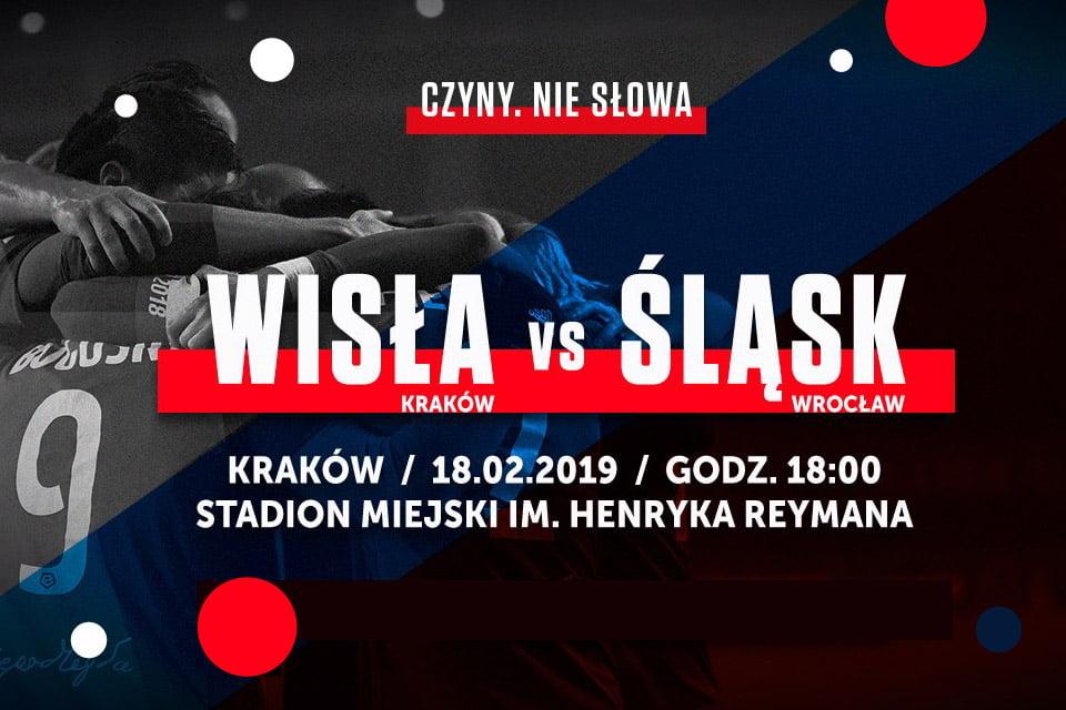 Wisła Kraków - Śląsk Wrocław | mecz