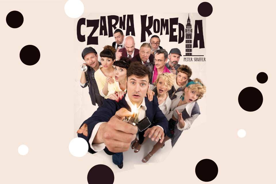 Czarna komedia | spektakl - Teatr Kamienica