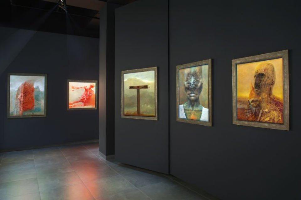 Galeria Zdzisława Beksińskiego w Krakowie