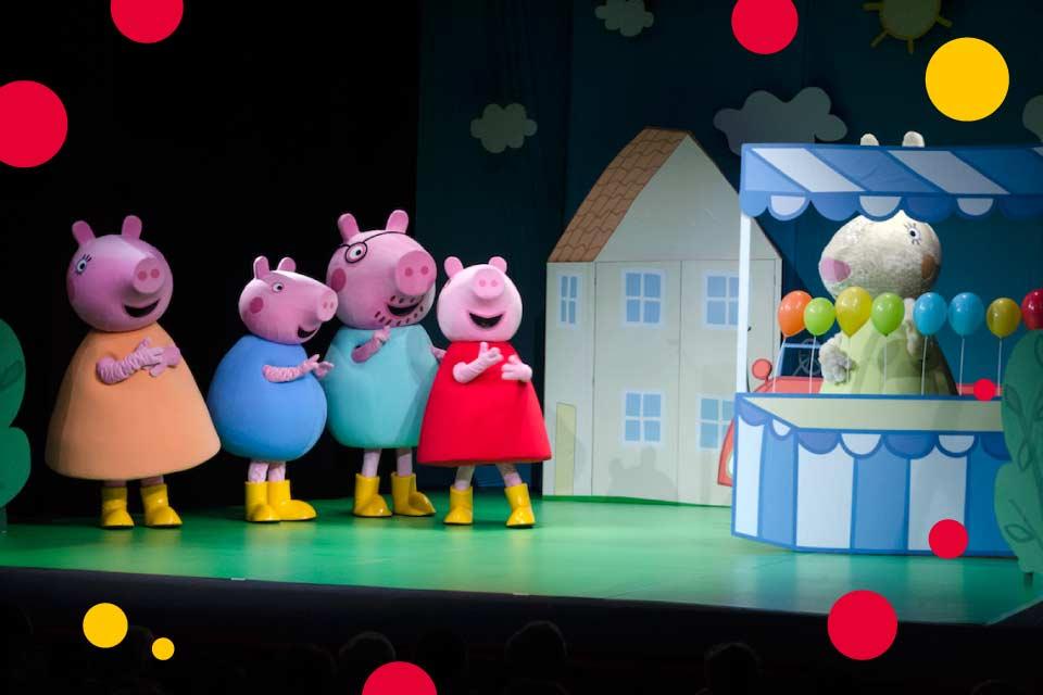 Świnka Peppa – Wielka Niespodzianka | spektakl dla dzieci