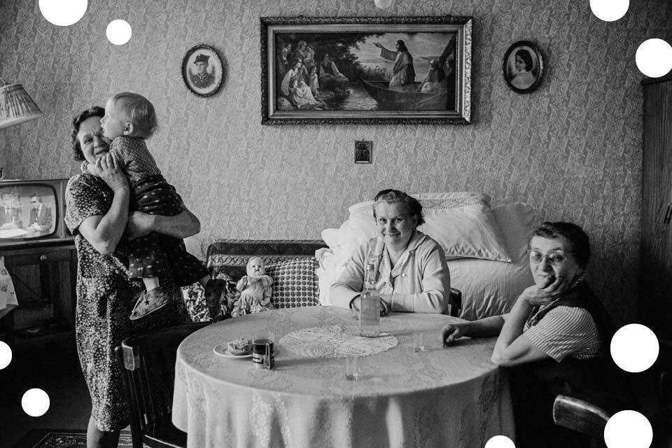 Joanna Helander, Baby patrzą. Fotografie 1976–2012 | wystawa