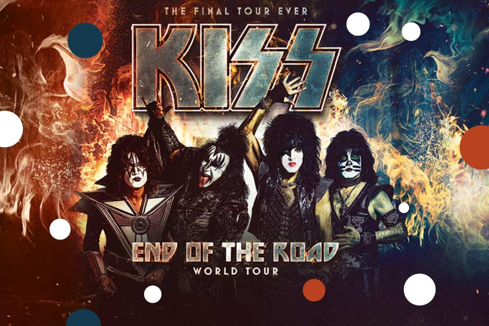 KISS   koncert - End of the Road World