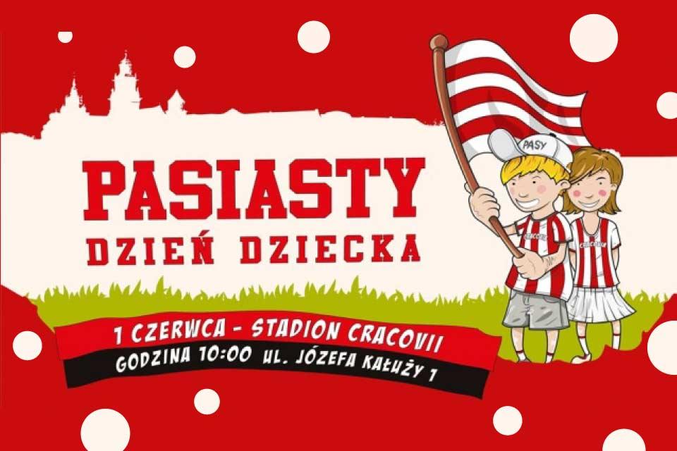 Pasiasty Dzień Dziecka na stadionie Cracovii