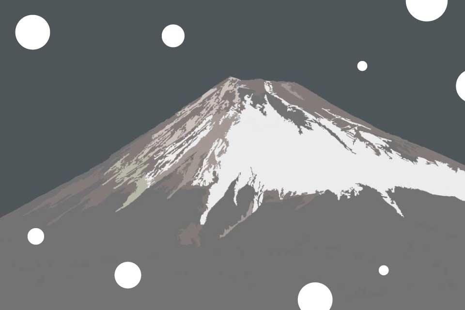 Góra Fuji | rodzinne warsztaty plastyczne