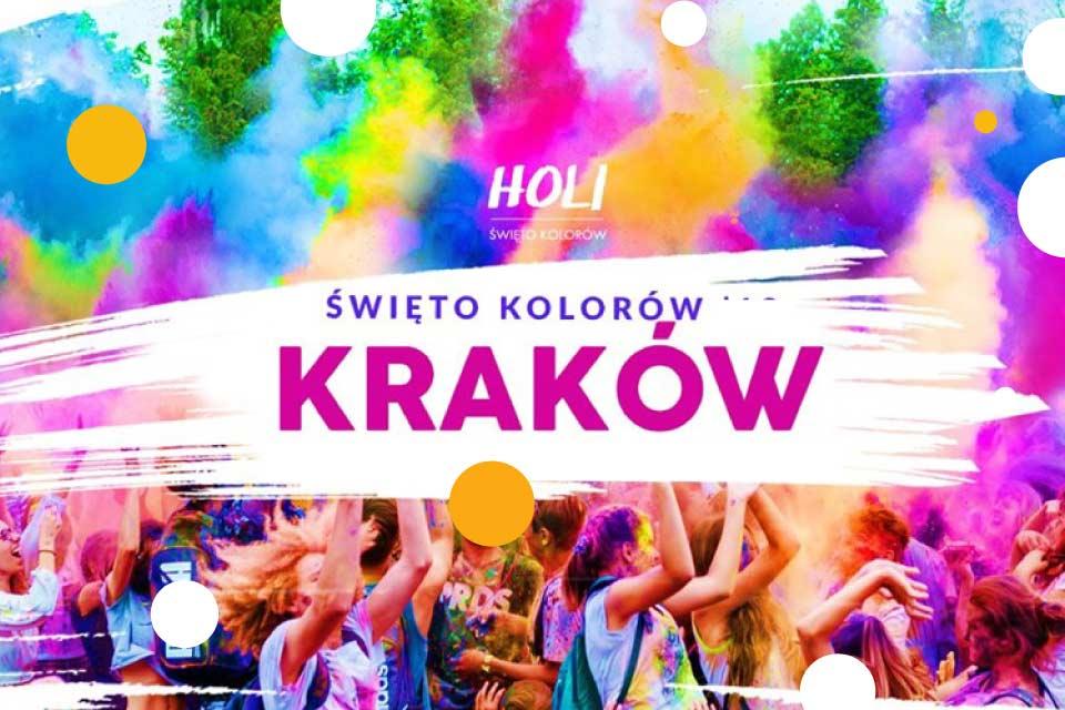 Holi Święto Kolorów w Krakowie