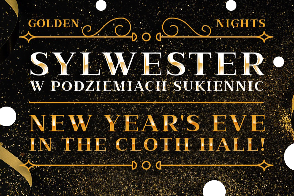 Golden Night | Sylwester 2019/2020 w Krakowie