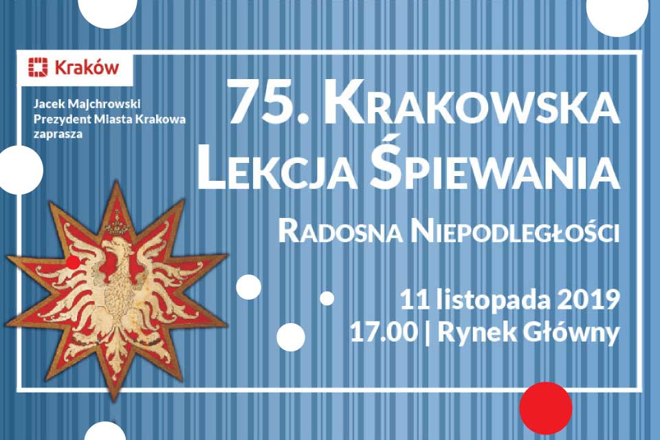 75. Krakowska Lekcja Śpiewania