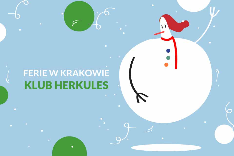 Ferie w Klub Herkules | Ferie Kraków 2020
