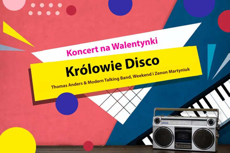 Koncert na Walentynki: Królowie Disco