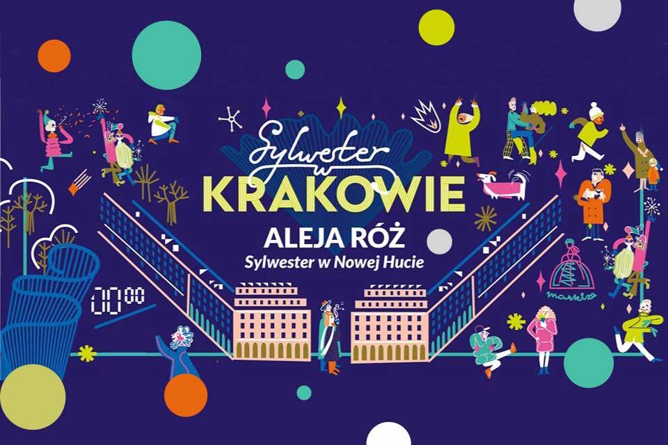 Sylwester Aleja Róż w Nowej Hucie | Sylwester Kraków 2019/2020