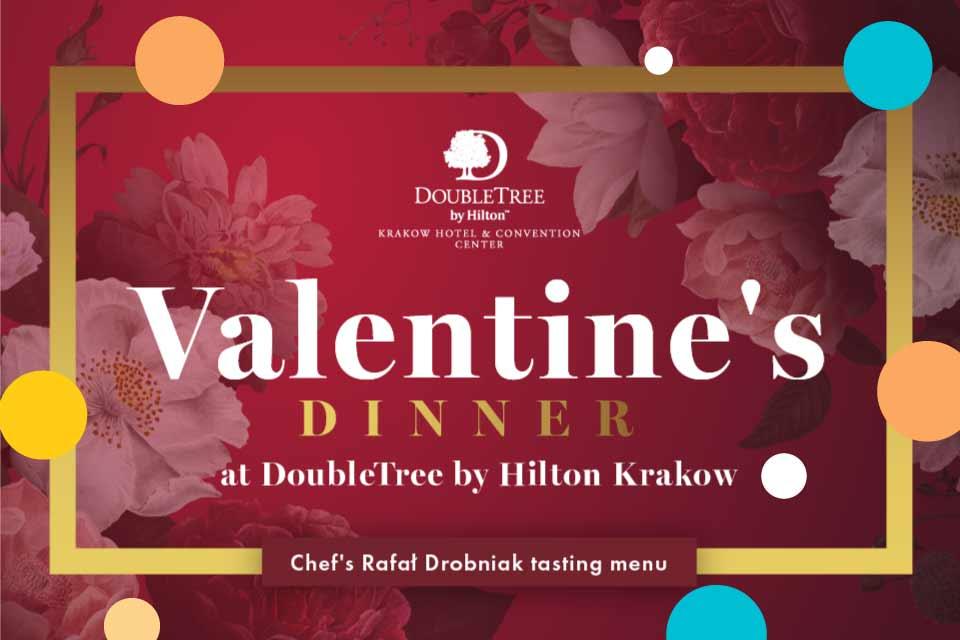 Walentynki w DoubleTree by Hilton Krakow