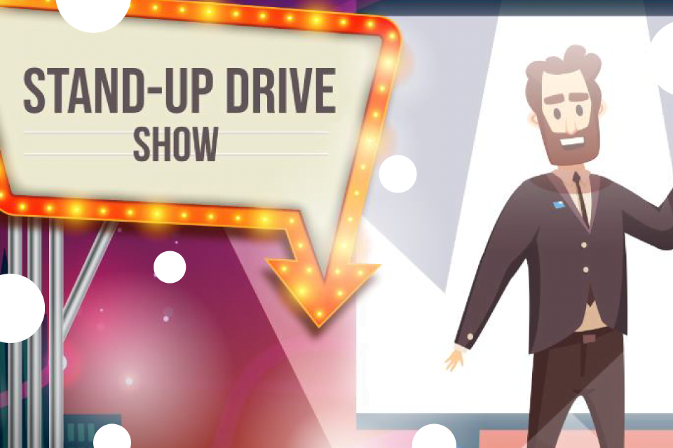 Stand-up Drive Kraków - Bilety