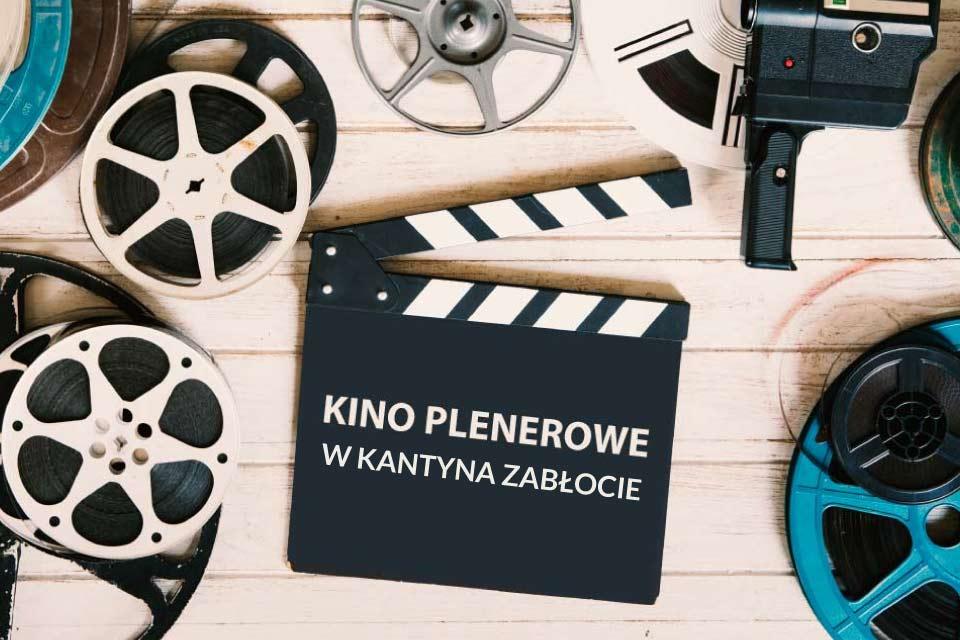 Kino plenerowe w Kantyna Zabłocie