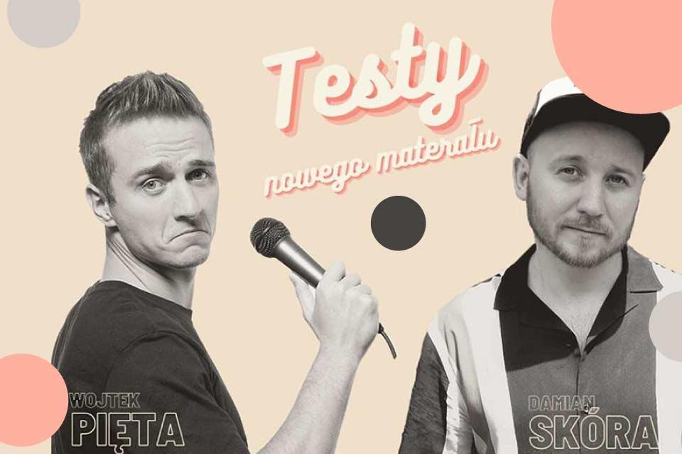 Wojtek Pięta i Damian Skóra   stand-up