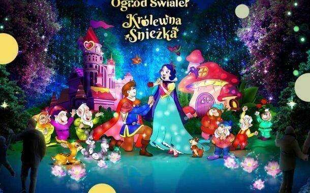 Królewna Śnieżka - Ogród Świateł w Krakowie